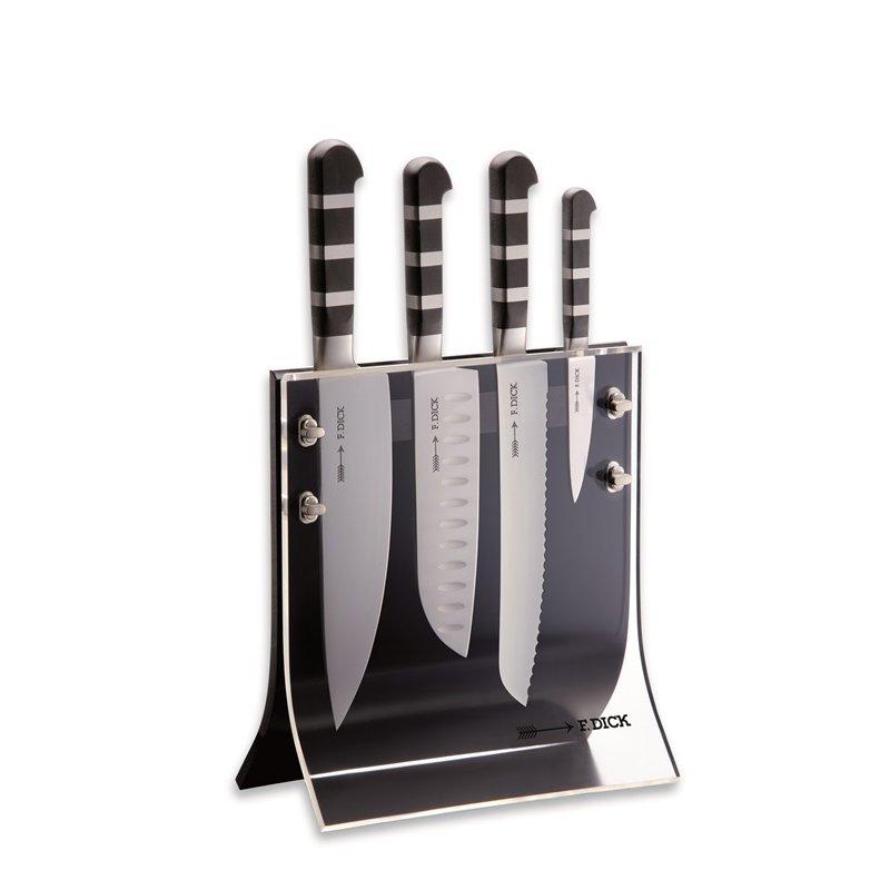 dick magnet messerblock 4knives serie 1905 von dick. Black Bedroom Furniture Sets. Home Design Ideas